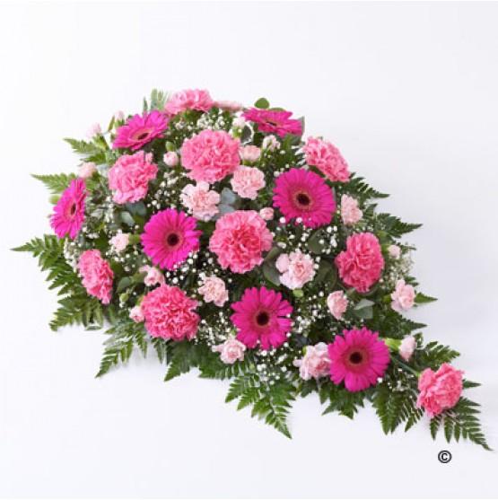 Carnation & Germini Teardrop  - Pink