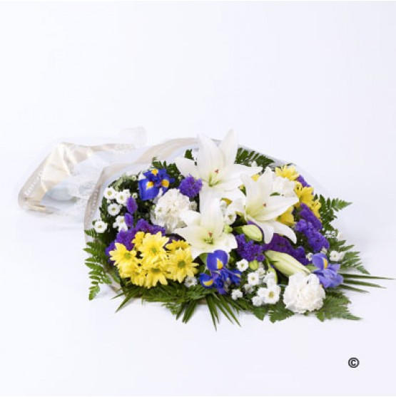 Flowers in Cellophane (as picture)