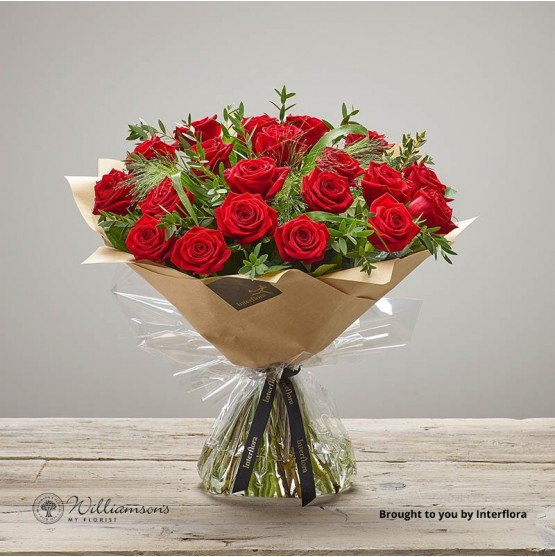 20 Freedom Red Roses For Delivery In The UK