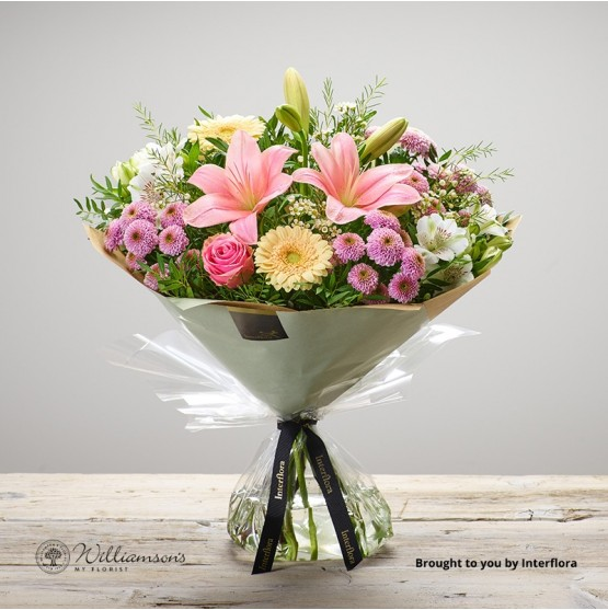 Mothers Day Pastels Hand Tied