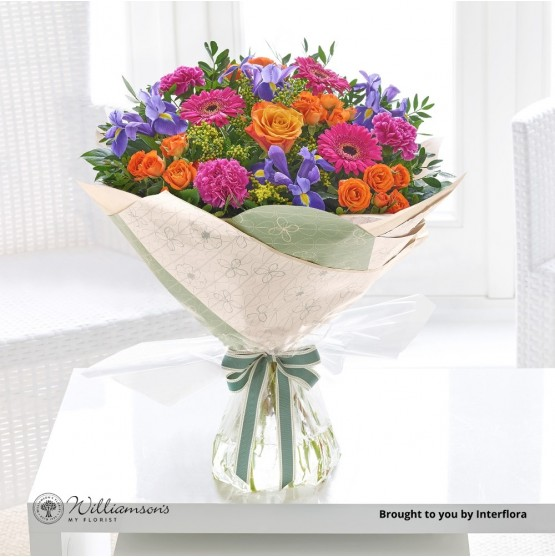 Blooming Brights Hand-tied