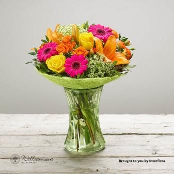 Vibrant Fizz Vase