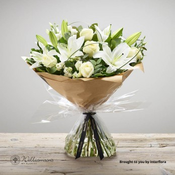 Champagne Celebration Floral Hand Tied.