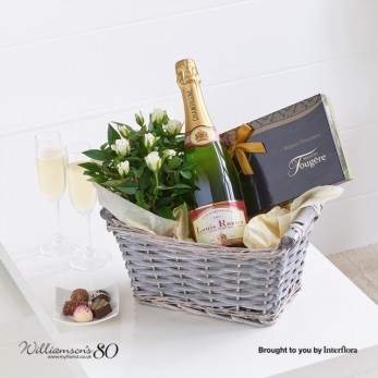 Luxury Champagne Gift Basket