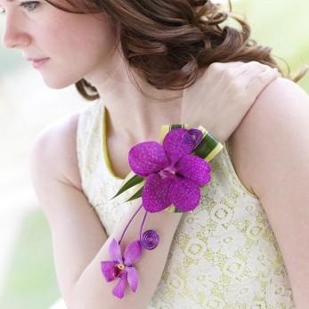 Multi Orchid Wrist Corsage