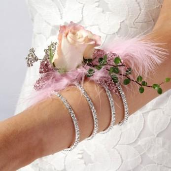 Elegant Rose Wrist Corsage