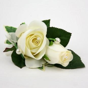 Ladies Double Rose Corsage