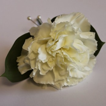 single carnation buttonhole