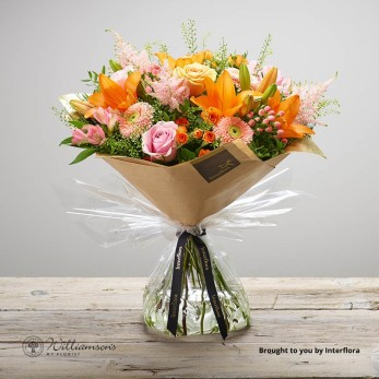 Luxury Apricot Ardour Floral Gift
