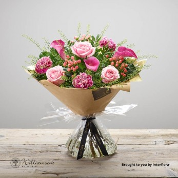 Luxury Daintily Devoted Floral Hand Tied