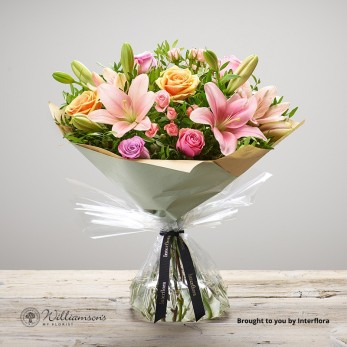 Strawberry Iced Hand Tied