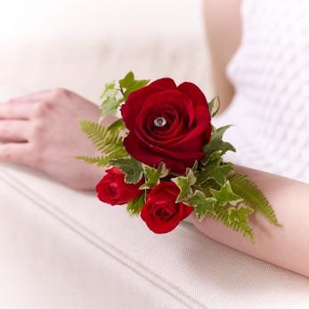 Multi Rose Wrist Corsage