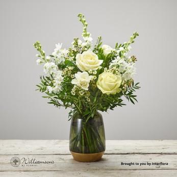 Fragrant White Vase