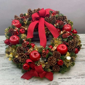 Special Hand Made Wreath.HW6