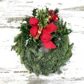 Pine & Holly Christmas Wreath