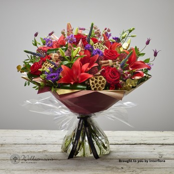 Luxury Scarlet Wonder Hand Tied