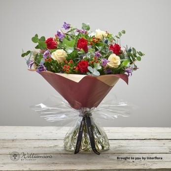 Berry Rose Hand Tied